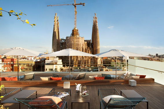 hotel sagrada familia barcelona enabled